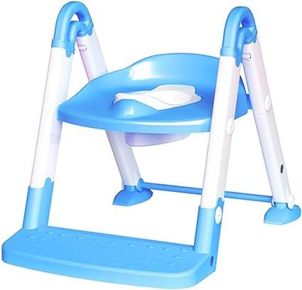 Xiao Jian- Escalera Silla Inodoro para niños Aseo Boy Boy Bebé Aseo Escalera Infantil Niño Agazapados Inodoro Inodoro Inodoro Silla Baño de niños: Amazon.es: Hogar