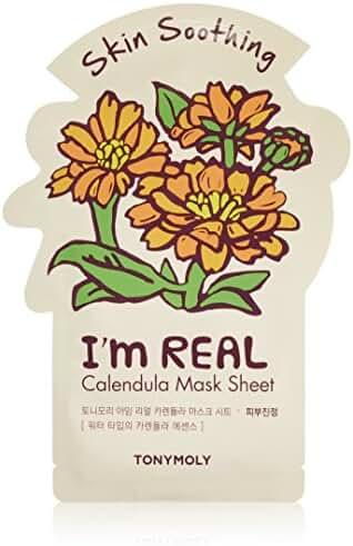 TONYMOLY I'm Real Calendula Skin Soothing Sheet Mask