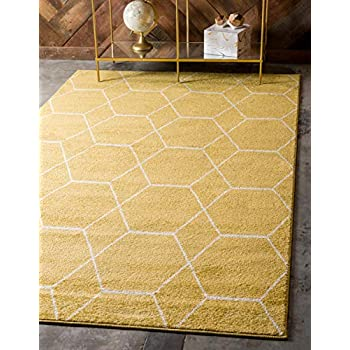 Amazon Com Unique Loom Trellis Frieze Collection Lattice