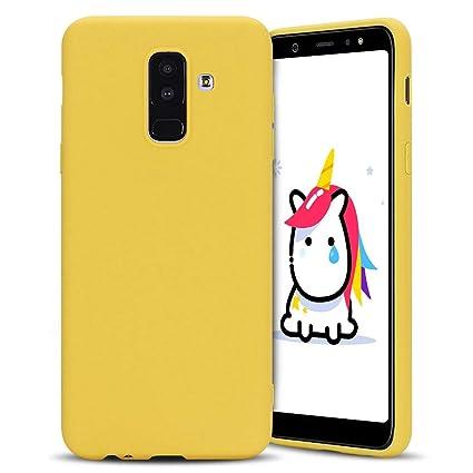 Anfire-ES Funda para Samsung Galaxy A6 Plus 2018, Silicona Case Suave Gel TPU Carcasa Ultra Ligero Bumper Tapa Antigolpes Flexible Protectora Caso ...