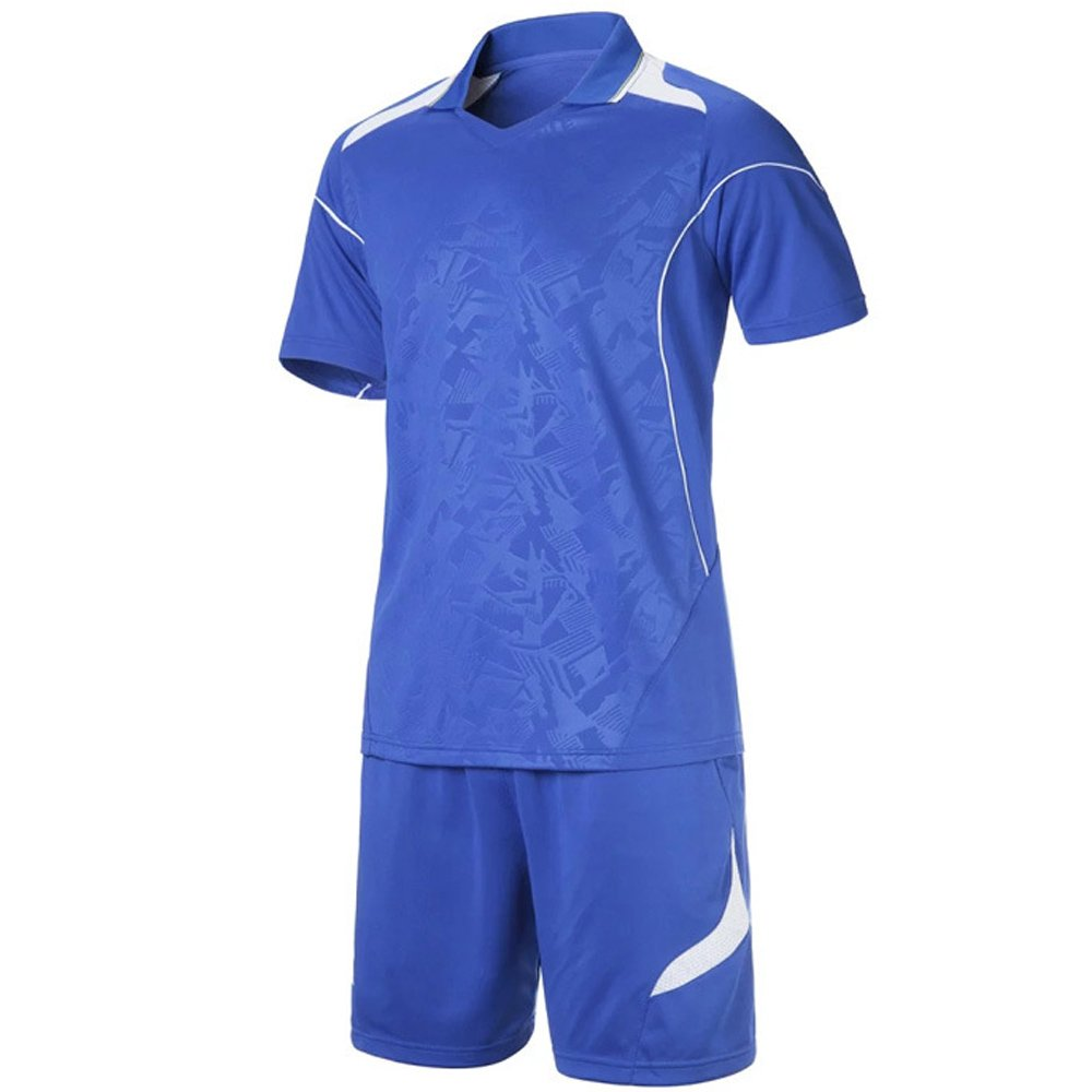 493457559a6 KINDOYO New Summer Men and Women Football Short Sleeve Breathable Soccer  Suit Set Training Jerseys Couple Suit Training Uniforms: Amazon.co.uk:  Clothing