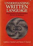 Understanding Written Language, S. C. Garrod and Anthony J. Sanford, 0471278424
