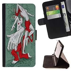 Dragon Case - FOR Apple Iphone 6 - haven't even left - Caja de la carpeta del caso en folio de cuero del tirš®n de la cubierta protectora Shell