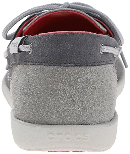 Crocs Shoe Grey Boat Women's Graphite Light W Walu gfrACHfq