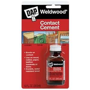 Dap 102 1-Ounce Weldwood Contact Cement
