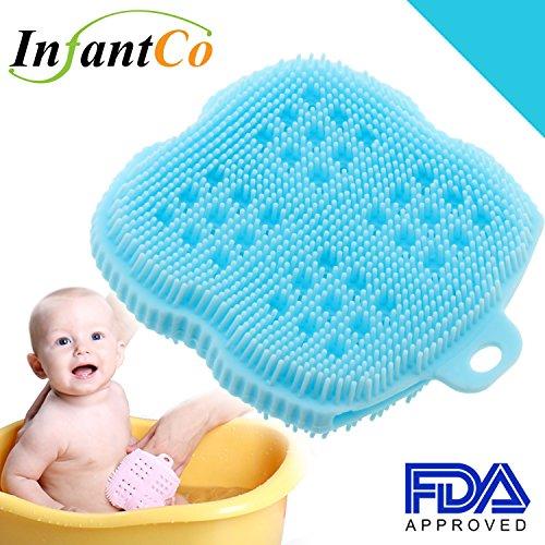 infantco-anti-bacterial-fda-approved-ultra-soft-baby-bath-silicone-scrubber-sponge-foam-rub-microwav