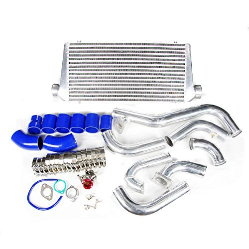 Mitsubishi Eclipse Intercooler - Rev9Power 1995 1996 Mitsubishi Eclipse 1995 1996 1997 1998 1999 Dsm Gsx Gst Intercooler Kit Version 2 New Style !!!