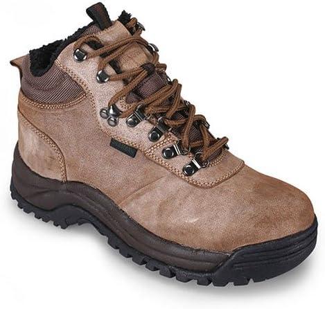 Men s Propet Cliff Walker II Hiking Boots Brown, BRN SHARKI, 9EEE