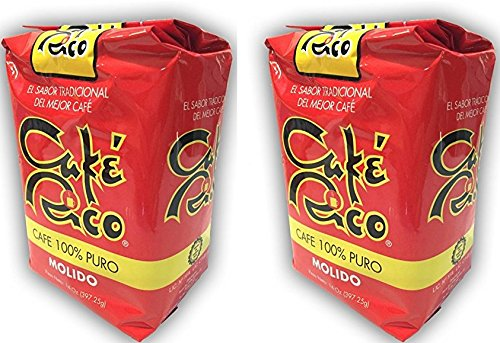 Café Rico Ground Coffee Puerto Rican Coffee 2 Bags of 14oz. Each