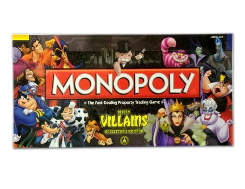 Disney Monopoly Game Villains Edition -