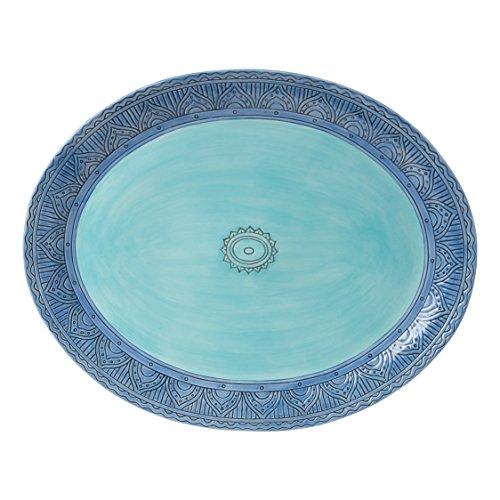 - Paisley Park Collection, Serving Platter, Pastel