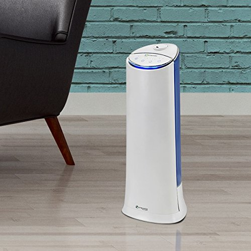 PureGuardian Ultrasonic Cool Mist Humidifier Tower, 1.5 Gallon Tank, Personal Humidifier, Room Humidifier, Pure Guardian H3200WCA by Guardian Technologies (Image #2)