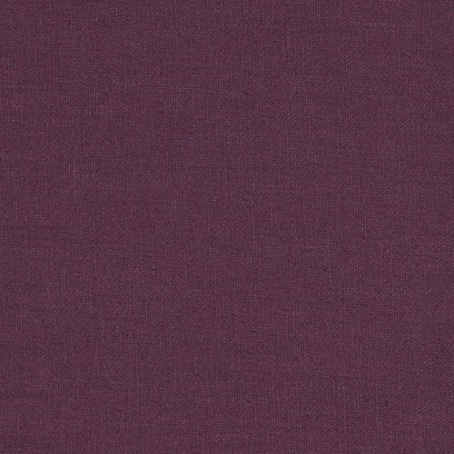 (Robert Kaufman Essex Linen Blend Fabric, Plum, Fabric By The Yard)