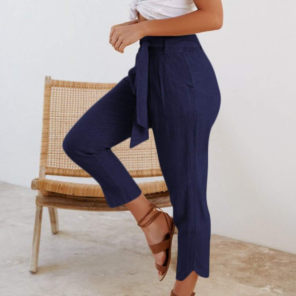 Amazon.com: Grandes Ofertas!! Pantalones de algodón con ...