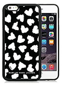 Iphone 6 Cases Custom Design Marc by Marc Jacobs 17 Cell Phone Tpu Cover Case for Iphone 6 4.7 Inch Black