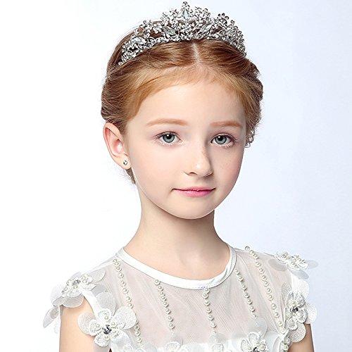 XPY DGX Accessori Per Capelli Da Sposa E Da Sposa Bambini I bambini di  acconciatura di corona del tiara archetto di strass per bambini ragazze  prestazioni ... bb500fa947a9