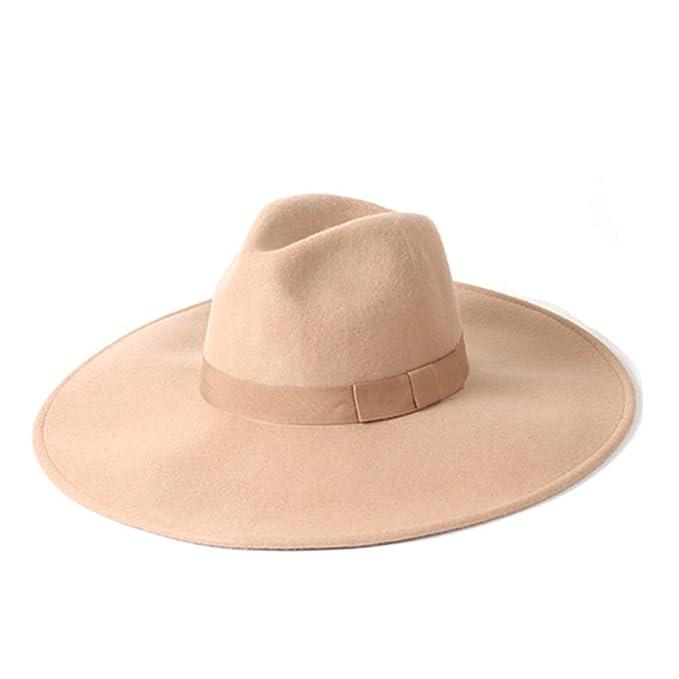 Rirui Cappello Lady Autunno E Inverno Jazz Cappello 100 Lana