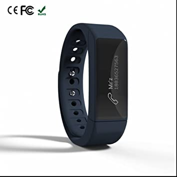 Reloj inteligente Smart Watch Bluetooth Teléfono,Sensor de frecuencia cardíaca,Alarma sedentaria,Sleep