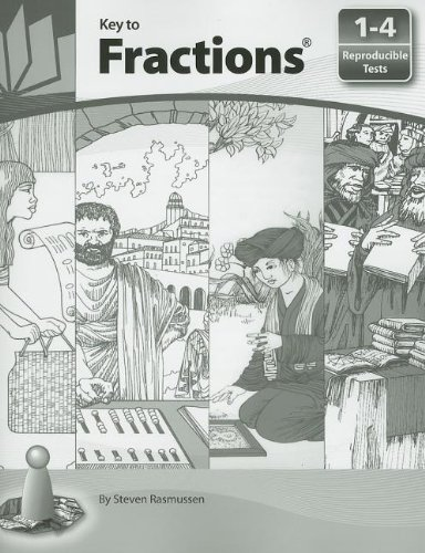 Key to Fractions: Reproducible Tests, Books 1 - 4