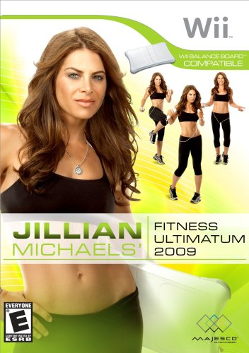 Jillian Michael's Fitness Ultamatum 2009 - Nintendo - Wii Fit Dvd