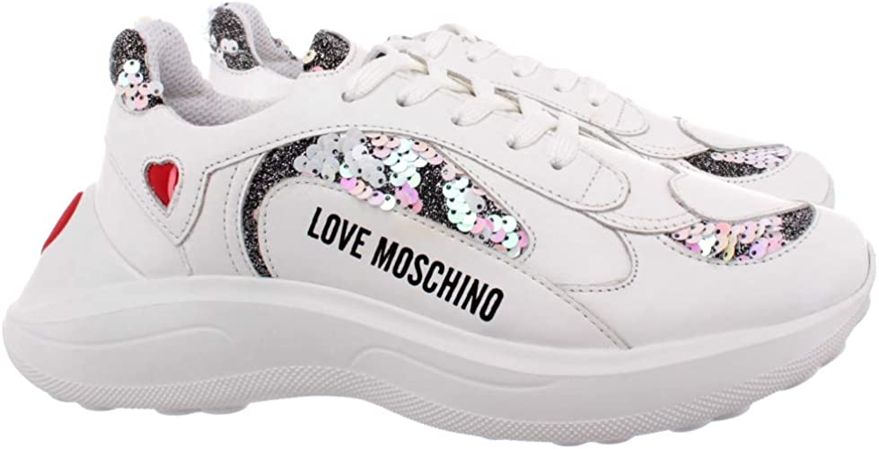 Love Moschino Chunky Heart Trainers
