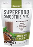 Gourmet Nut Superfood Smoothie Mix, Matcha Mint Chocolate, 15 Ounce For Sale
