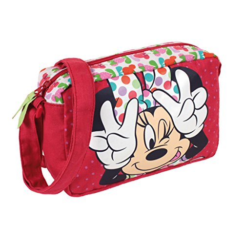Rectangular Minnie Bolsito Azul Con Bandolera Color vvHwrtq8