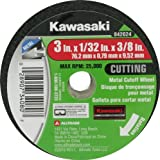 SAIT 23200 Type 1 6-Inch x 1//16-Inch x 5//8-Inch A36T Fast Cut-Off Wheels 50-Pack United Abrasives