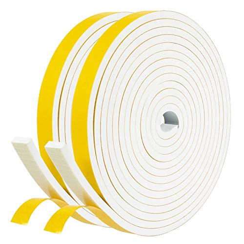 Foam Tape Yellow-White