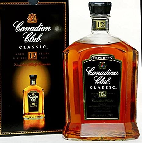 Canadian Club CLASSIC -old- 12 Years, 1,0 L
