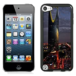 Beautiful Unique Designed iPod Touch 5 Phone Case With Saudi Arabia Riyadh City Night_Black Phone Case