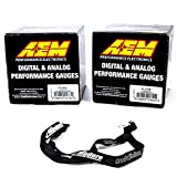AEM 52mm Digital Gauge Kit Oil Pressure 150psi