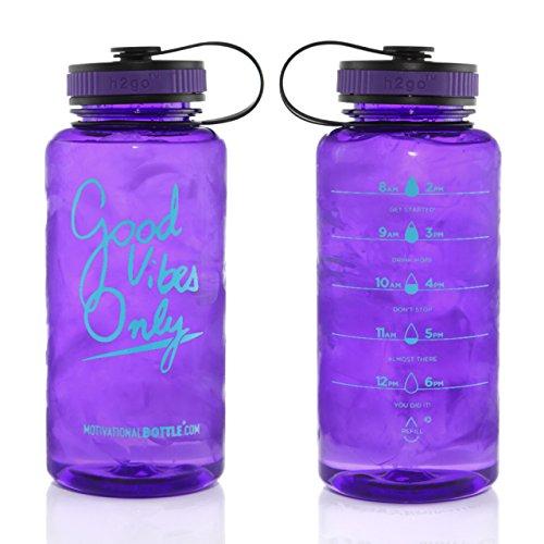Purple Large Motivational Bottle®