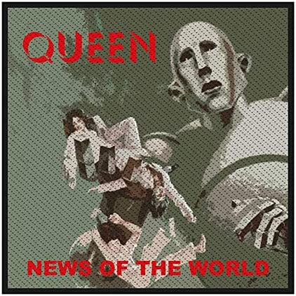 Queen(クイーン) News Of The World Standard Patch 縫いつけパッチ/ワッペン