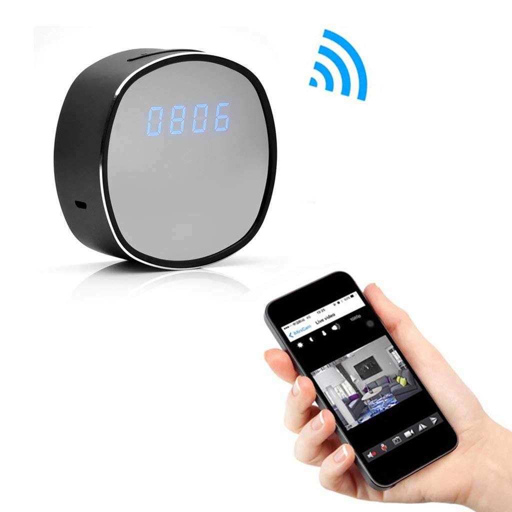 WIFI電子時計ミニカメラ目覚まし時計時間リモートビデオ監視P2P B07MP2XXWW CCTV IPカメラホームセキュリティ監視赤外線ナイトビジョン (設計 : UK plug, plug, サイズ サイズ さいず : 32G) 32G UK plug B07MP2XXWW, 穴水町:d9b17e42 --- m2cweb.com