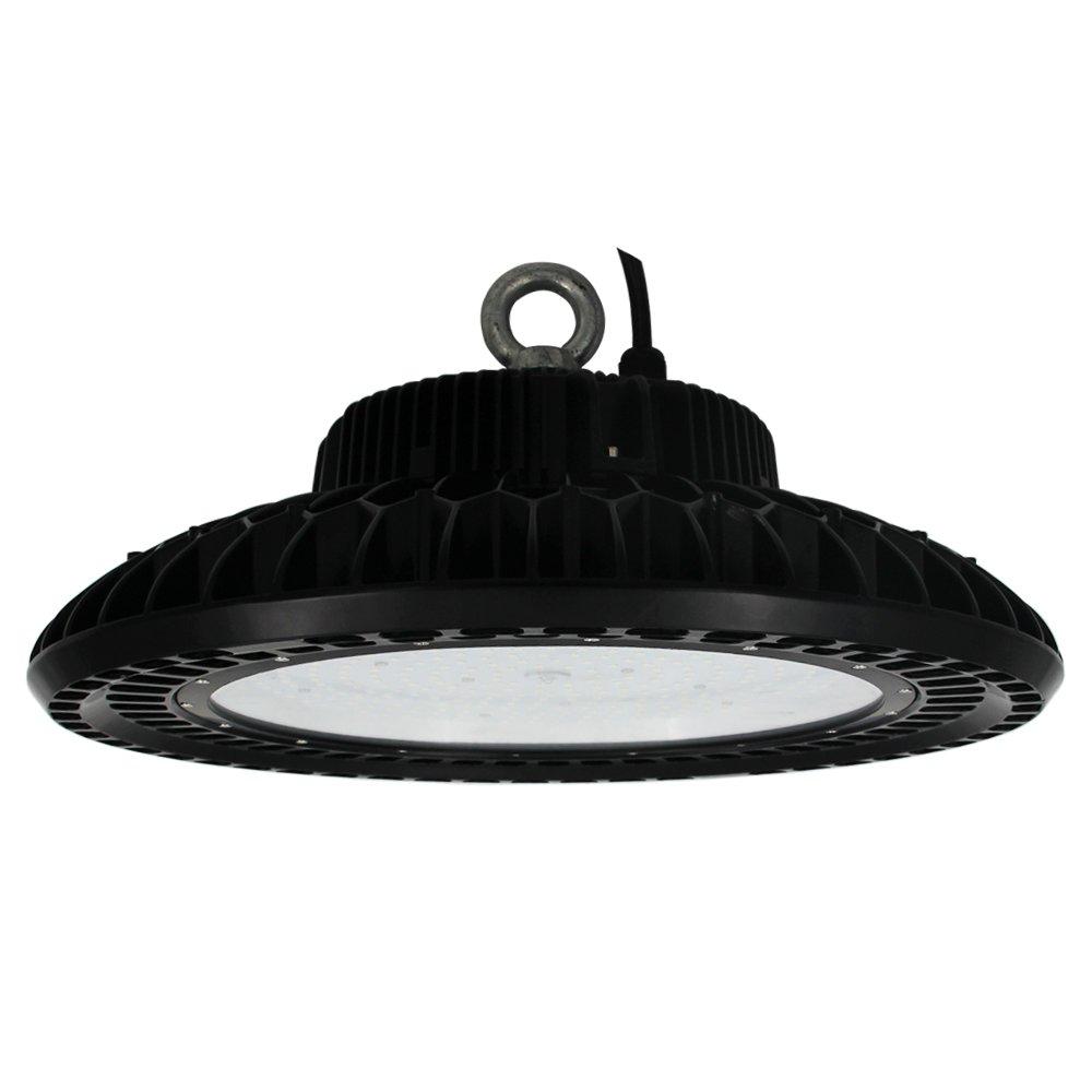 Caree-LED 240W UFO High Bay LED Industrial Lights 480V 347V IP65 Replace 1000W HID Highbay Workshop Warehouse Lighting 5000K Daylight White