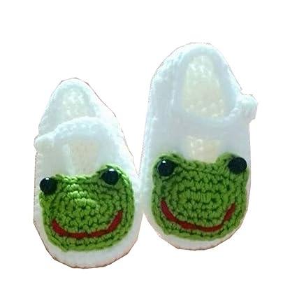 Leneom store Material Robusto Calcetines de Punto de Ganchillo bebé recién Nacido Sandalias de niño pequeño