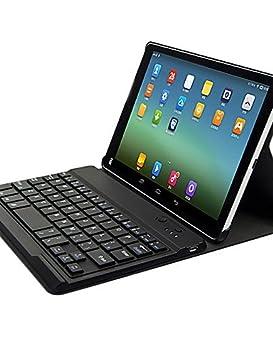 SEENDA Gehäuseabdeckung des Leder-Tablet 7.9 Zoll mit Tastatur Bluetooth für MI Pad weiß