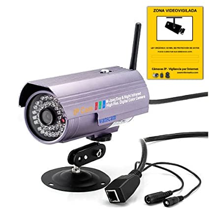 IP CAMARA WIFI VIDEO VIGILANCIA WANSCAM EXTERIOR AJ-C0WA-C116 6MM CAMERA