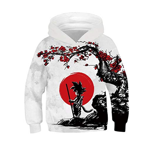 Dragon Ball Z Hoodies Boys Girls Kids 3D Printed Pullovers -