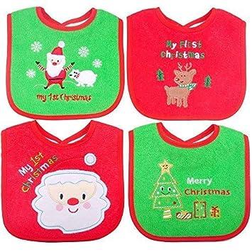 Baby Shower Gift Baby Christmas Gift,First Birthday Gift Baby Boy Gift Cotton Baby Bibs Reversible Baby Bib Vintage Bib Baby Girl Gift