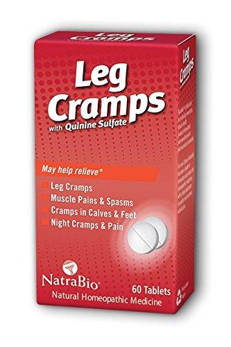 Leg Cramps Natra-Bio 60 Tabs (Quinine Sulfate)