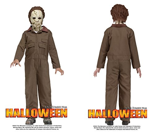 Rob Zombie Michael Myers (Rob Zombie's HALLOWEEN Michael Myers Child Costume - Large 12-14)