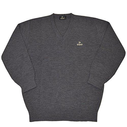 (ダンロップ)DUNLOP メンズ Vネック セーター ゴルフセーター ニット 薄手 男性用 dp6
