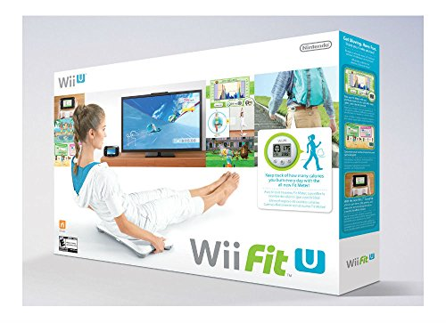 (Wii Fit U, Fit Meter,and  Wii Balance Board)