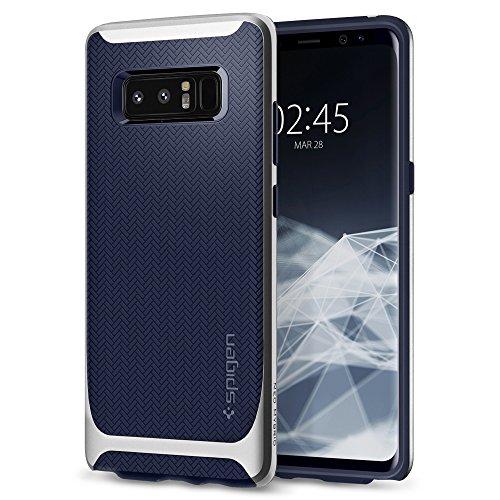 spigen Funda Galaxy Note 8, [Neo Hybrid] Protección Interna Flexible y Cuadro Reforzado de Parachoques Duro para Galaxy Note 8 (2017) [Plata Ártico]