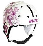 AWE Ski Snowboarding Freeride In-Mould Helmet 56-58cm Pink/White CE EN 1077 Standards