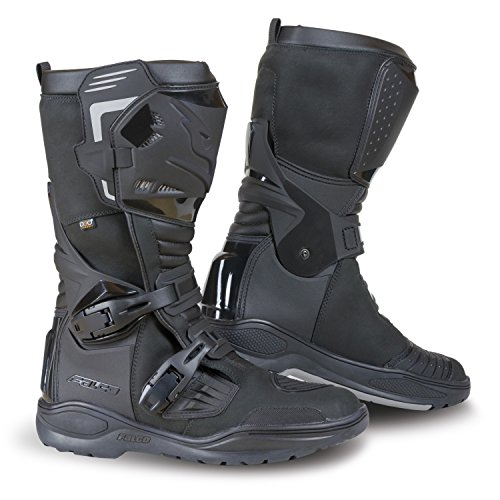 Falco AVANTOUR Adventure Touring CE Approved Motorcycle Boots Black 43