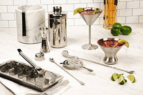 Endurance 8 Oz. Stemless Martini Glass - One Glass by RSVP International (Image #3)