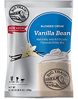 Big Train Blended Creme Mix Vanilla Bean 3.5 Lb (1 Count) Powdered Instant Drink
